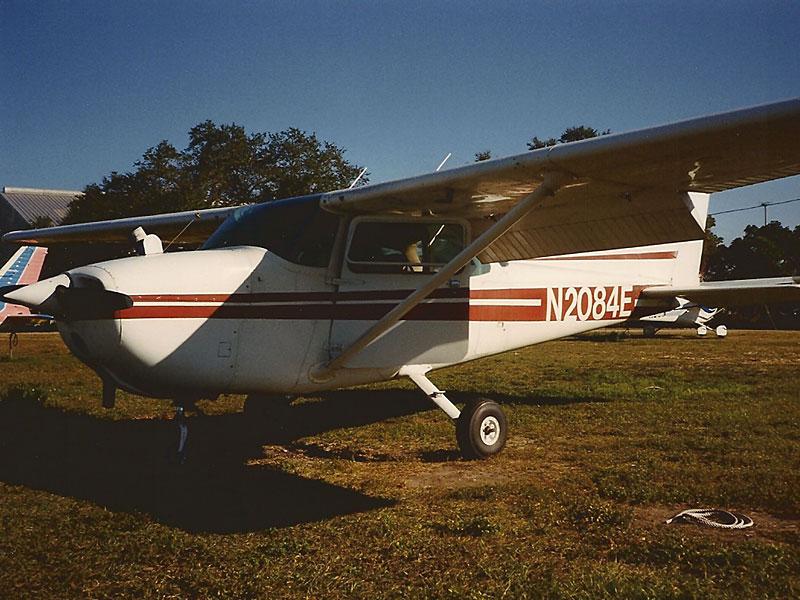 N2084E, auf der ich meine erste Flugstunde nahm