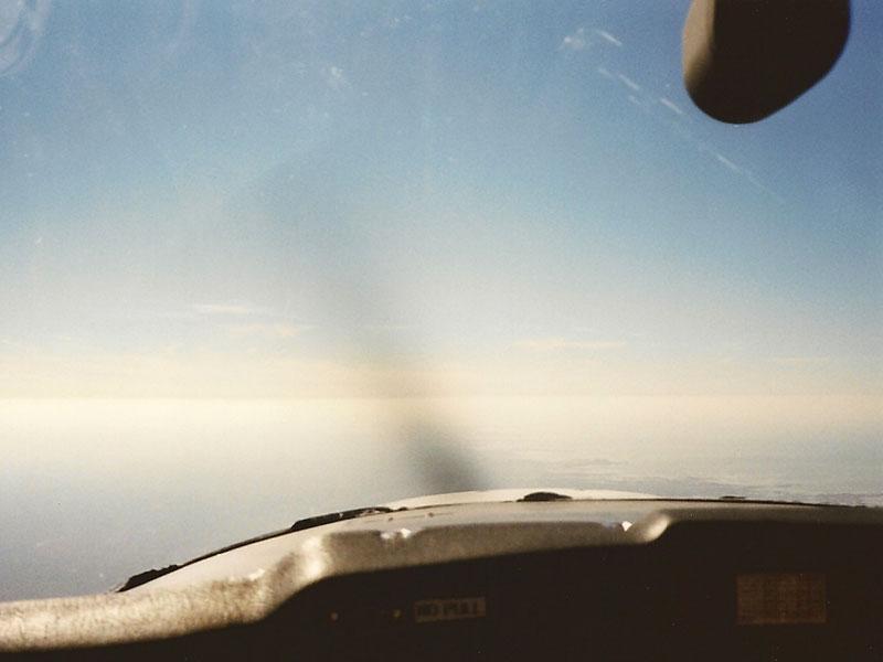 Flug-Horizont