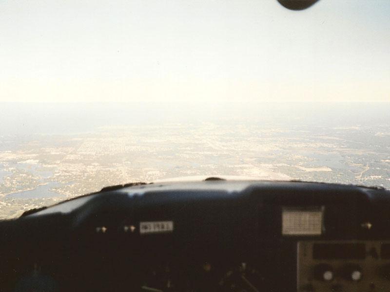 Flug über Florida