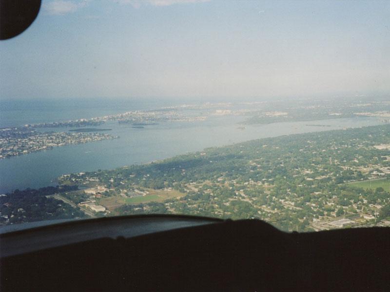 Floridas Küstenlinie (von Christof Hegger)