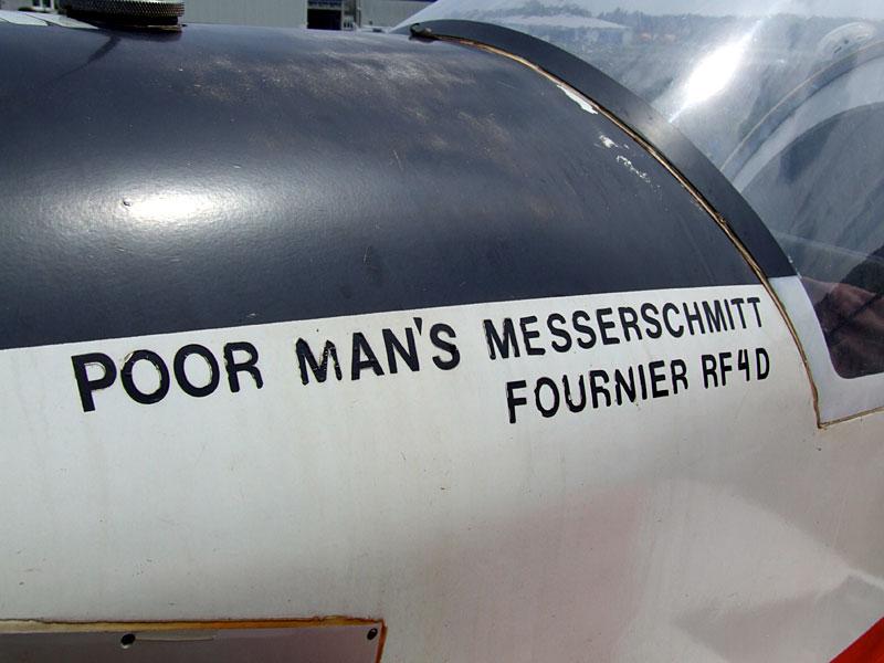 Poor Man's Messerschmitt