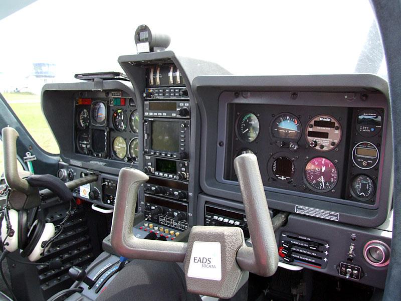 Socata Cockpit