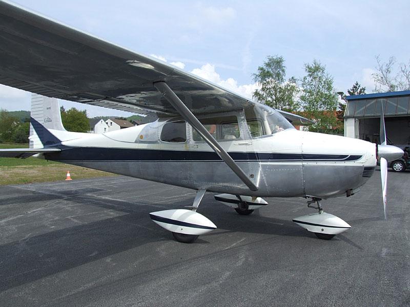 Cessna 172 in der Ursprungsversion