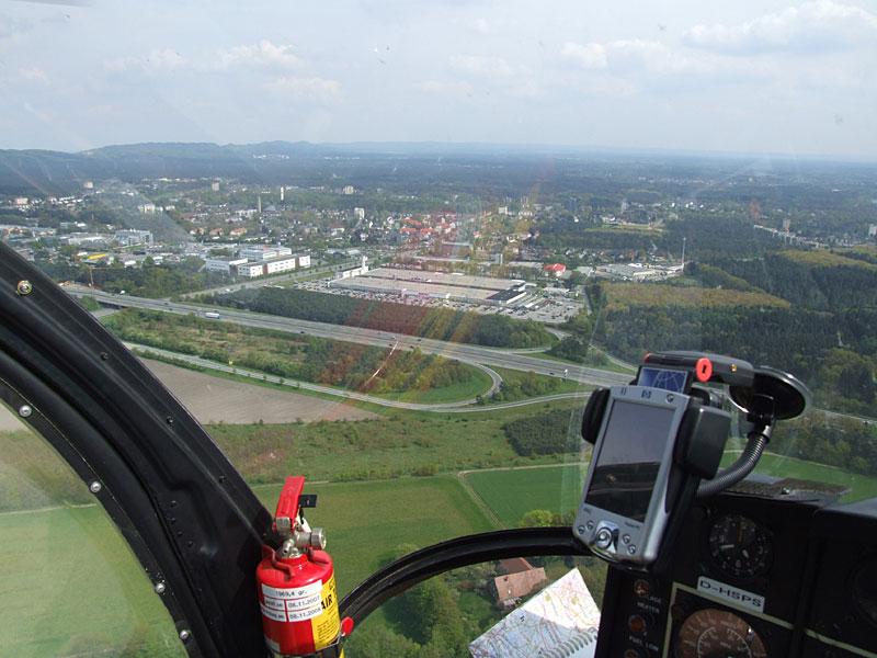 Abgehoben in Bielefeld