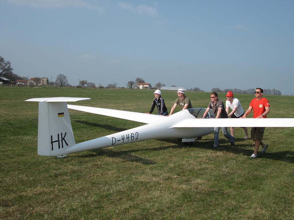The Hornet has landed