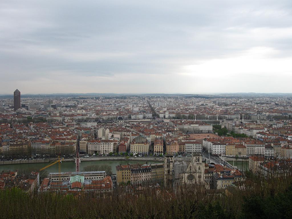 Panoramablick auf Lyon
