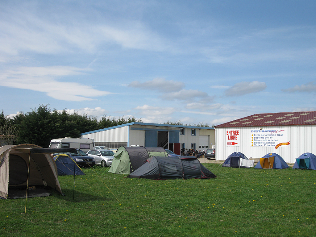 Das Zeltlager