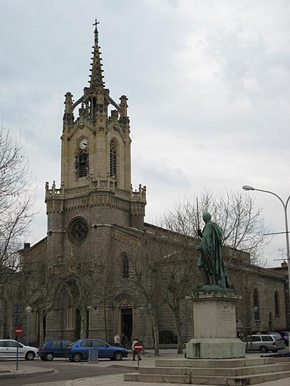 Die Pfarrkirche Notre Dame in Feurs