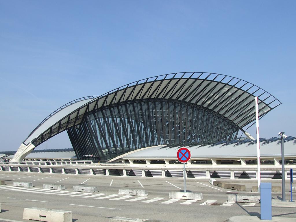 Der Aéroport Lyon Saint Exupéry