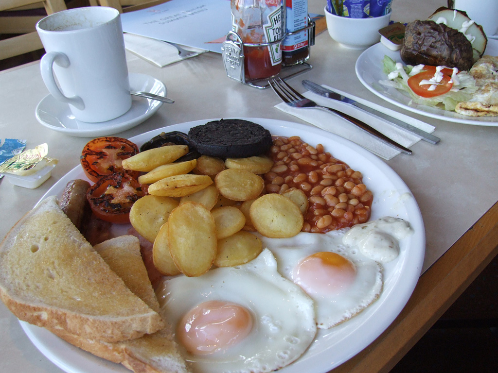 English Breakfast in Sheffield