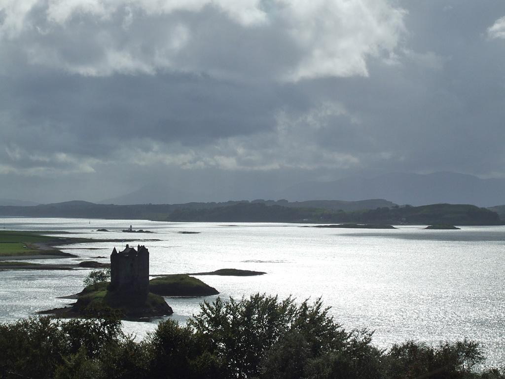 Castle Stalker, das Schloss von Aaaargh