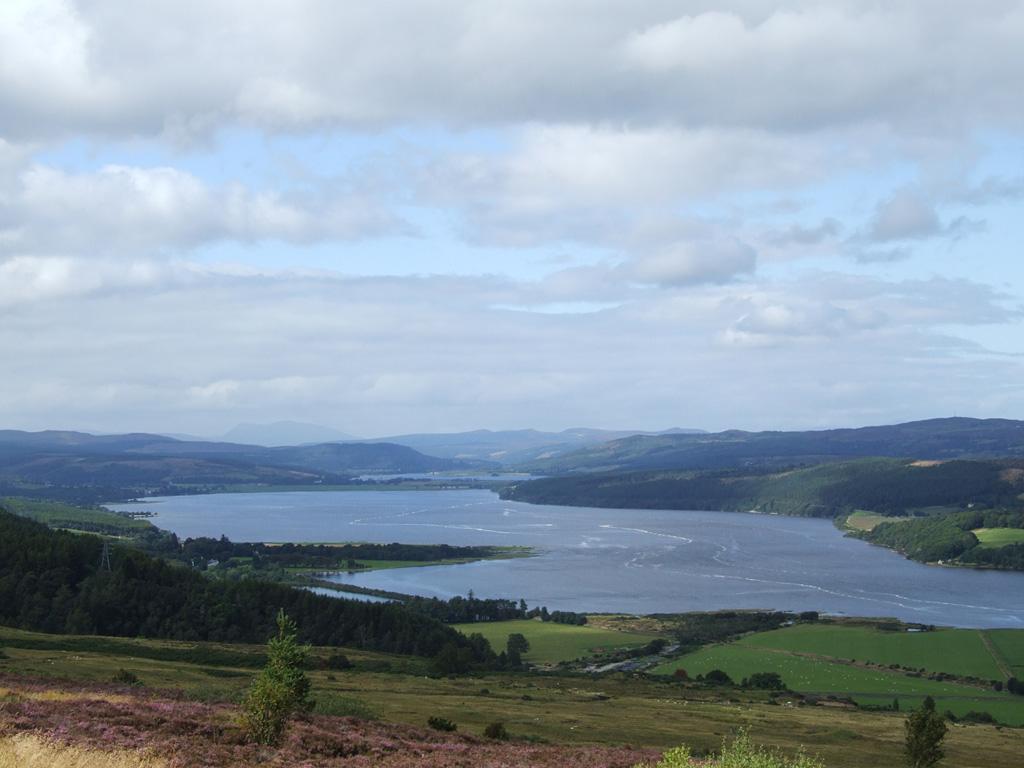 Blick auf den Dornoch Firth
