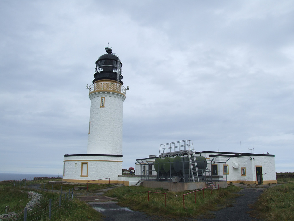 Leuchtturm am Cape Wrath