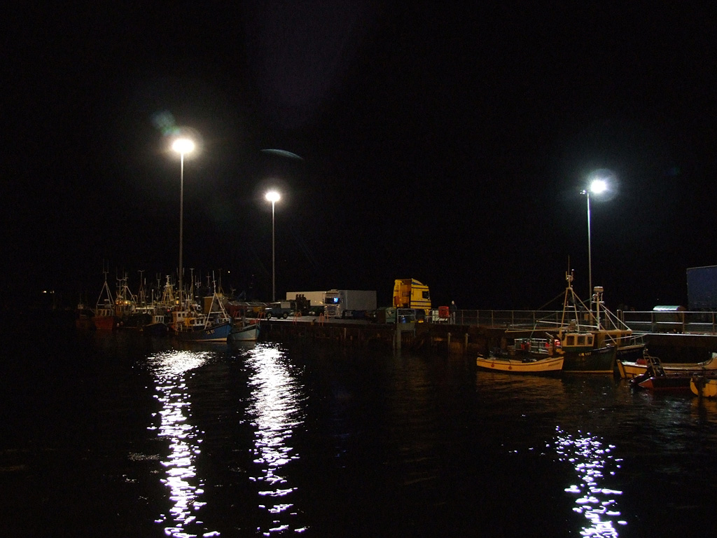 Ullapool by night