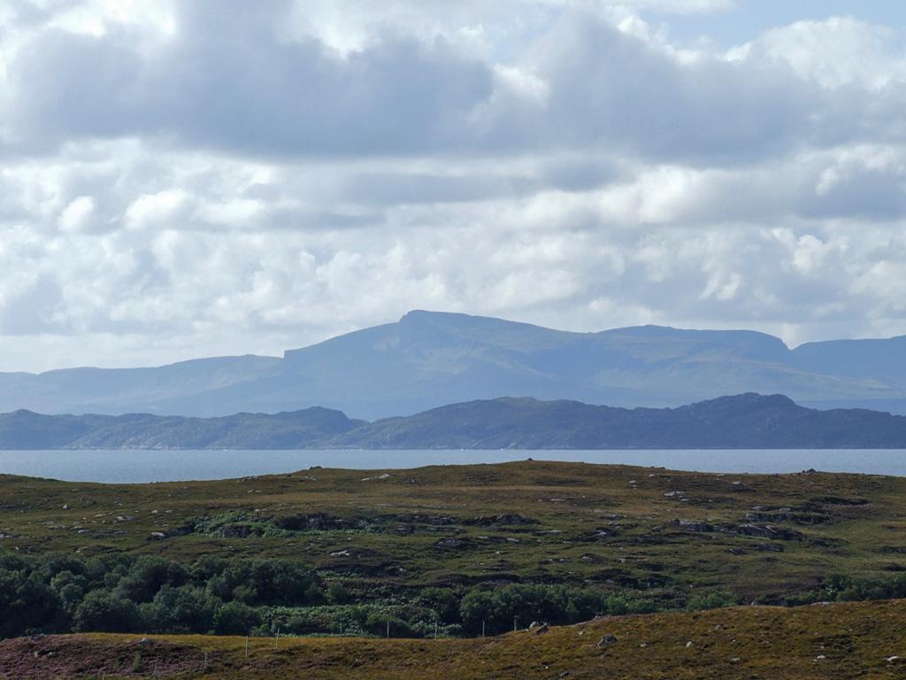 Blick auf Skye und Raasay