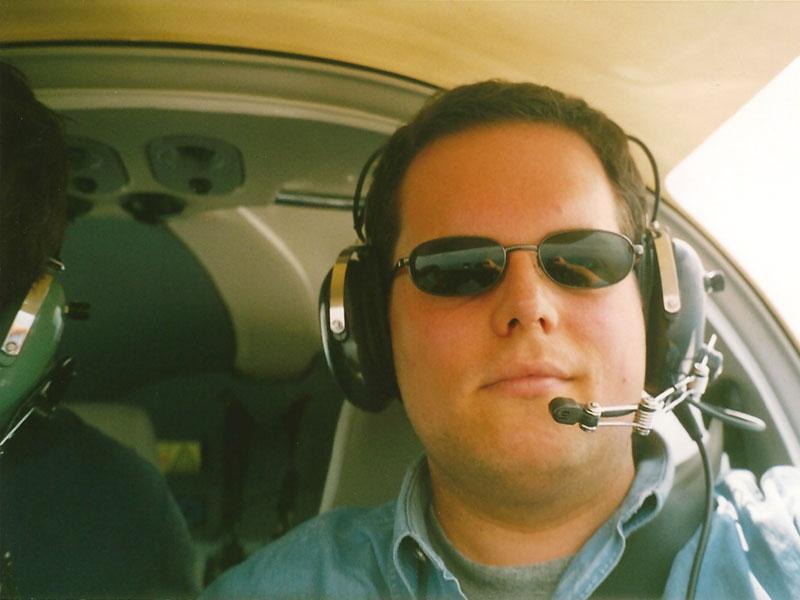 Kein Pilot ohne Sonnenbrille