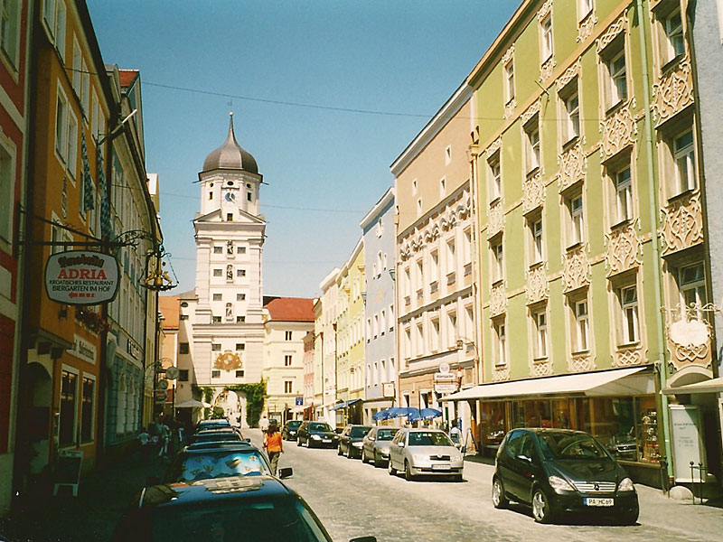 Vilshofen: Stadttor