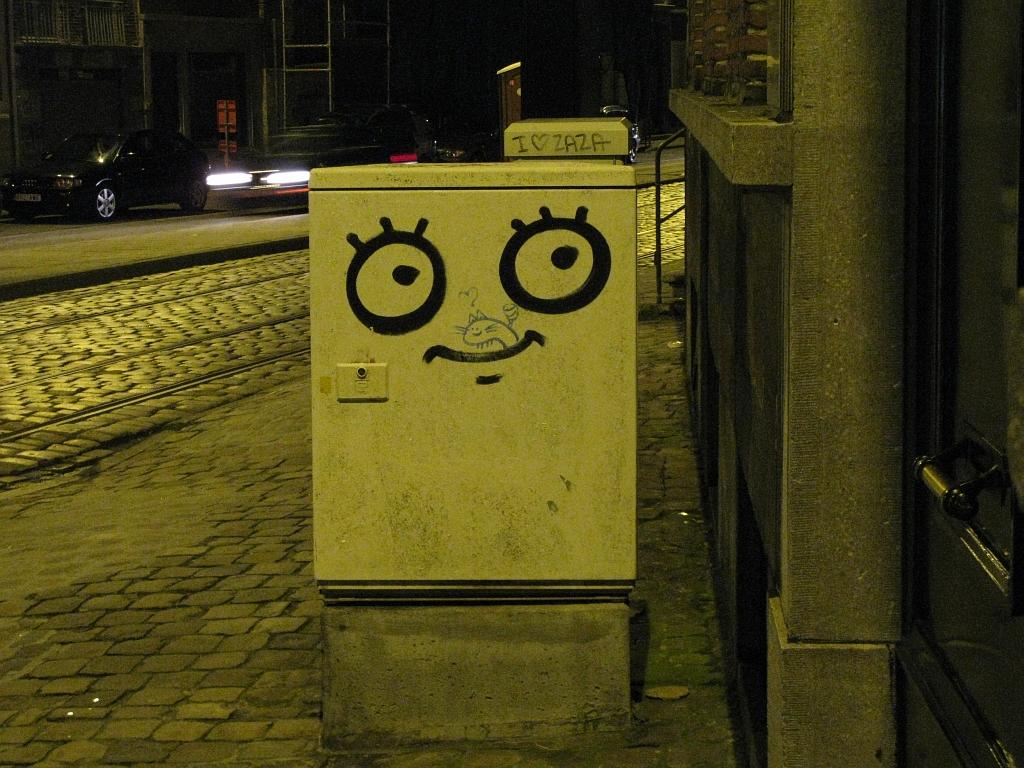Das Grinsen von Gent