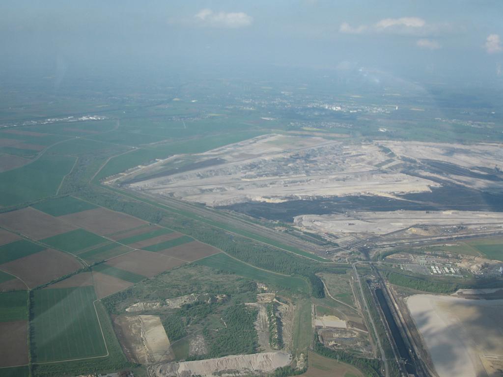 Blick zum Tagebau