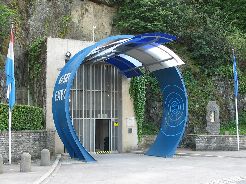 Eingang zum Pumpspeicherkraftwerk