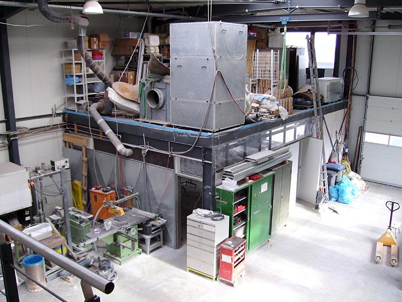 FVA-Werkstatt von innen